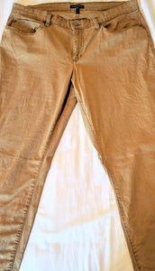 Organic Cotton Eileen Fisher straight leg jeans